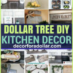Dollar Tree DIY Kitchen Decor pin