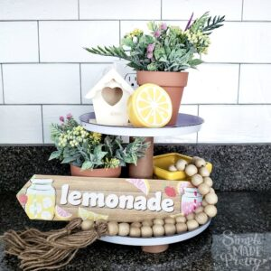 Dollar Tree DIY Tiered Tray