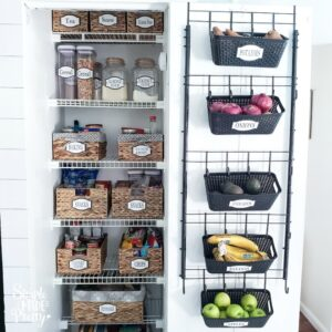 Dollar Tree Door Organizer